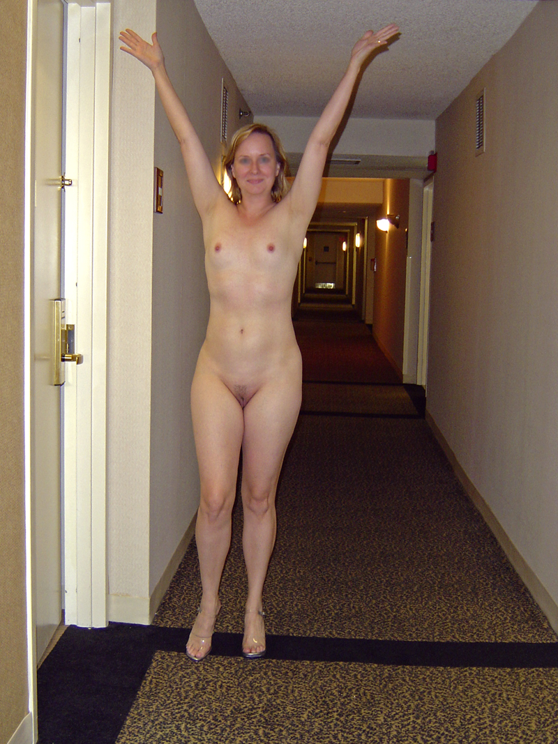 Wife in the hotel window bateing 9