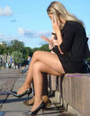 Candid Pantyhose